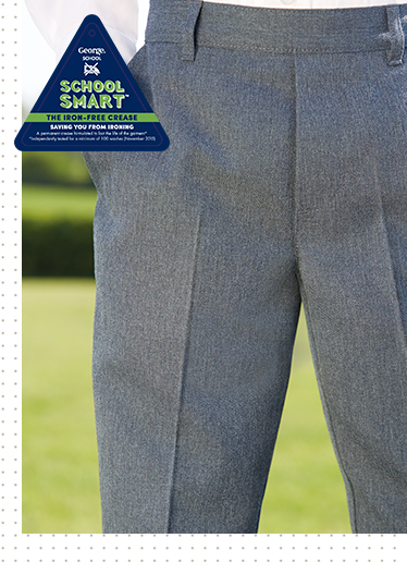 Find more trousers, less creases at George.com