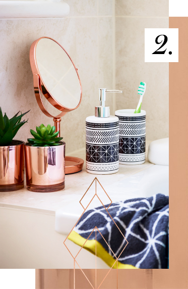 Indulge in some new bathroom essentials at George.com