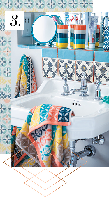 Brighten up your bathroom with our essentials at George.com