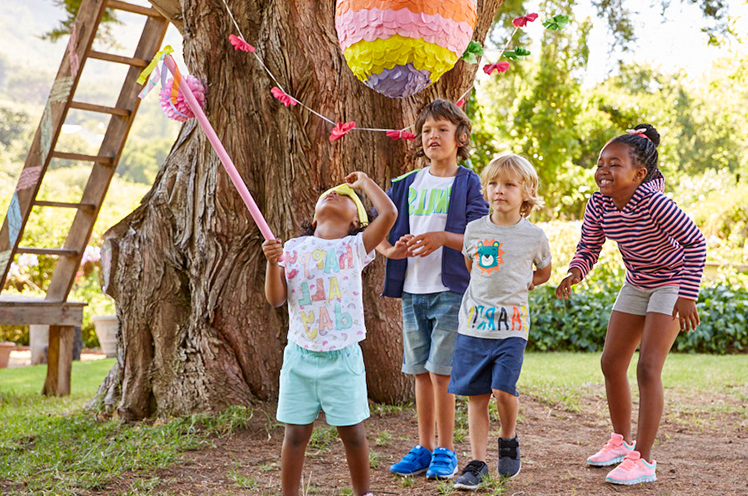 Explore our kids' range for outdoor Easter adventures at George.com Shop new collection CTA – Shop our range of kids' tees, shorts, jumpsuits and dresses only at George.com