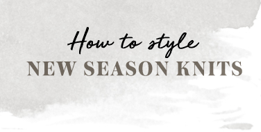 How To Style New Season Knits