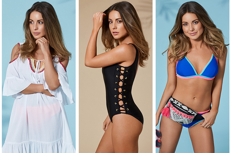 Find gorgeous swimwear from printed bikinis to floaty cover-ups and one-pieces with our Louise Thompson collection at George.com