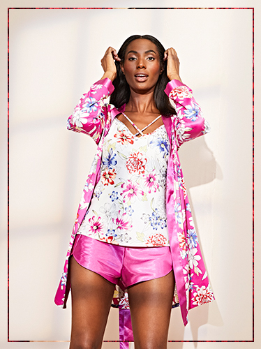 Add a stylish touch to her night routine with our selection of pyjama sets at George.com