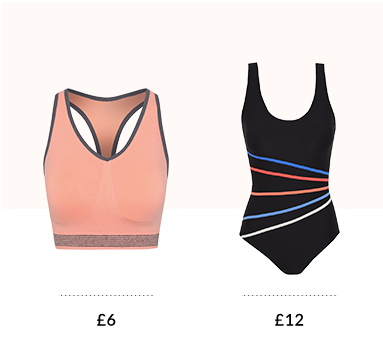 Welcome in the new season with our stylish sports bras, swimming costumes and more at George.com