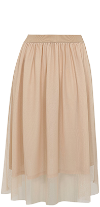 Channel a waterfall tulle skirt at George.com