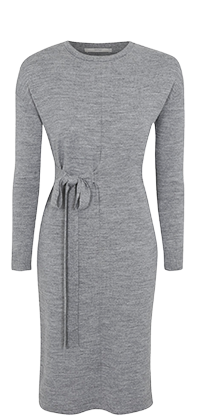 Simple and effortless – Shop our wrap-effect knitted dress at George.com