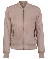 Layer up in style with our pink satin bomber jacket at George.com