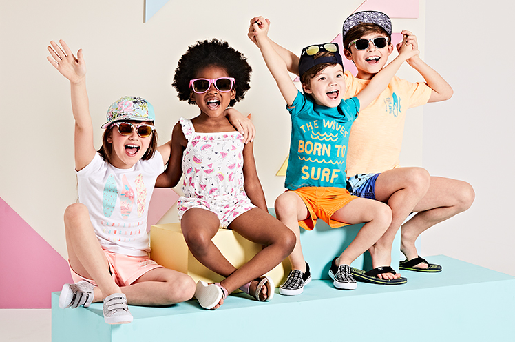Make your weekend break a stylish one with our selection of summer clothing for all the family at George.com