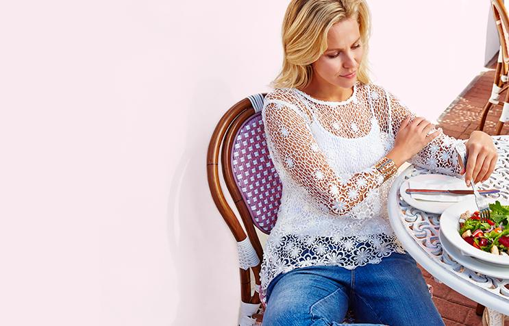 Shop a range of crochet tops at George.com