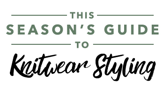This Seasons Guide To Knitwear Styling