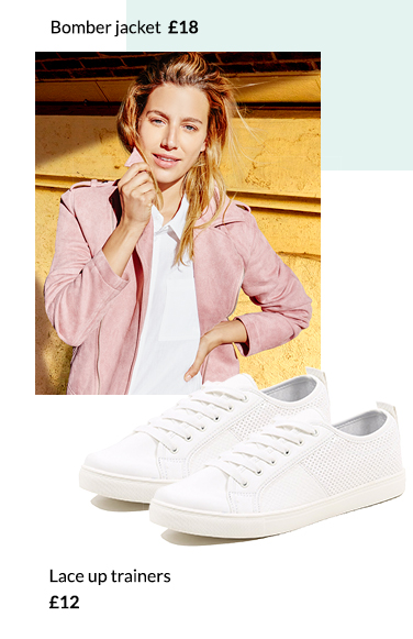 Go bold with a pink tailored jacket at George.com