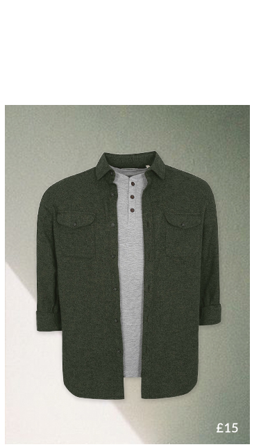Smarten up with our selection of shirts at George.com