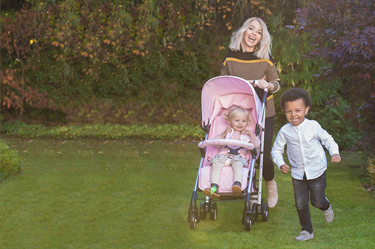 Discover our new fun and affordable range of pushchairs by My Babiie at George.com