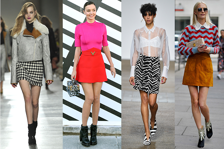 Make the mini skirt your winter go-to piece at George.com