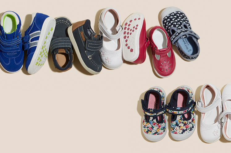 Find your little one's first pair of shoes with our First Walkers collection at George.com