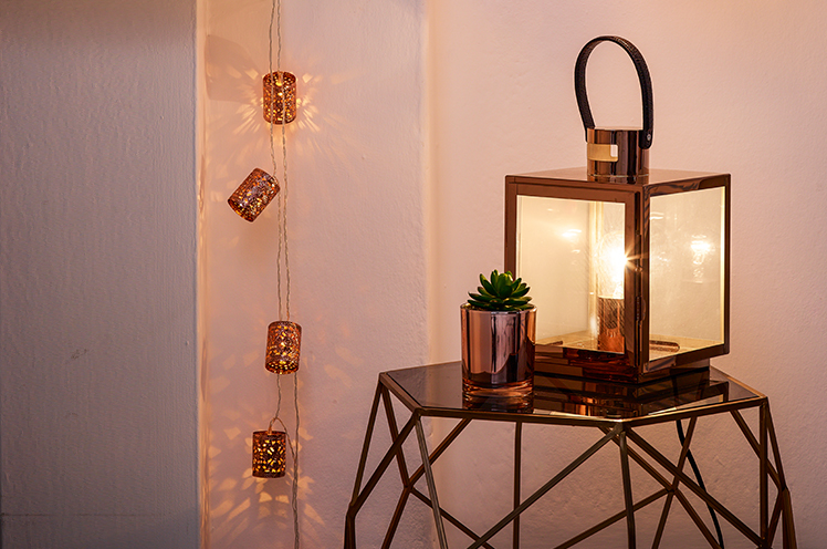 Discover how to transform your home with stylish lighting. From table lamps to string lights, find all the latest styles at George.com