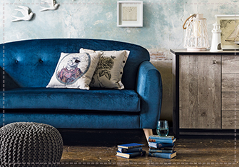 Pick from a range of velour sofas and cushions at George.com