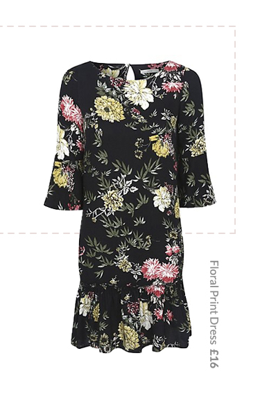Escape in florals with our range of printed dresses at George.com