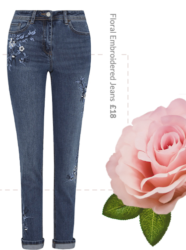 Transform denim days with our range of embroidered jeans at George.com