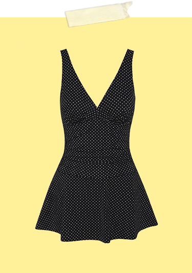 Add a playful touch to your poolside look with a polka dot swim dress at George.com