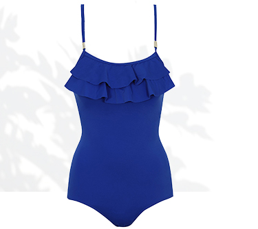 Get your frill on with a ruffle top swimsuit at George.com