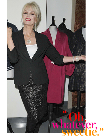 Get patsy's look with our blazers, blouses and skirts at George.com