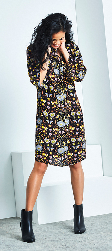 Give your autumn wardrobe a refresh with our selection of floral dresses at George.com