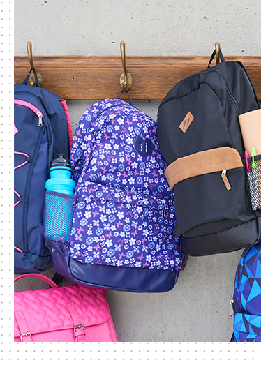 Be ready to go with our selection of back packs at George.com