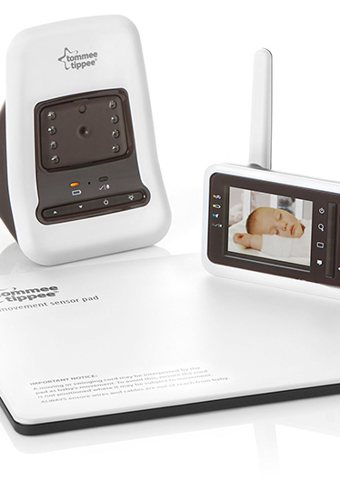 Keep peace of mind with our handy baby monitors at George.com