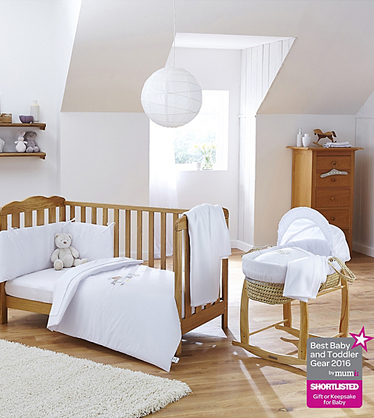 Explore our range of cribs and baskets at George.com