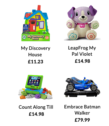 Shop the latest baby toys at George.com