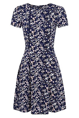 Shop Ditsy Floral Casual Dress at George.com