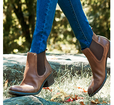 This season's coolest shoes, brown leather Chelsea boots are an irresistible footwear choice
