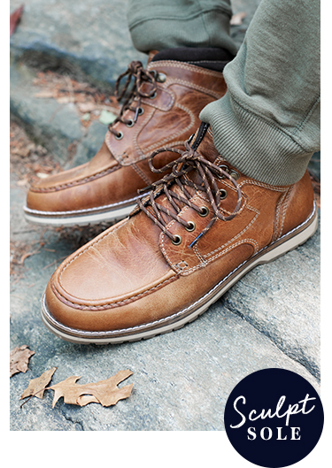 Looking for comfortable shoes for men? Seek out our new leather boot collection at George at Asda