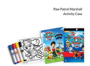 Paw Patrol Marshall Activity Case