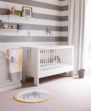 Make sure your nursery is cute and cosy with furniture and accessories from George.com