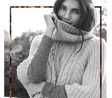 We're so excited about this season's cable knits, from throw-on roll necks to waterfall cardigans