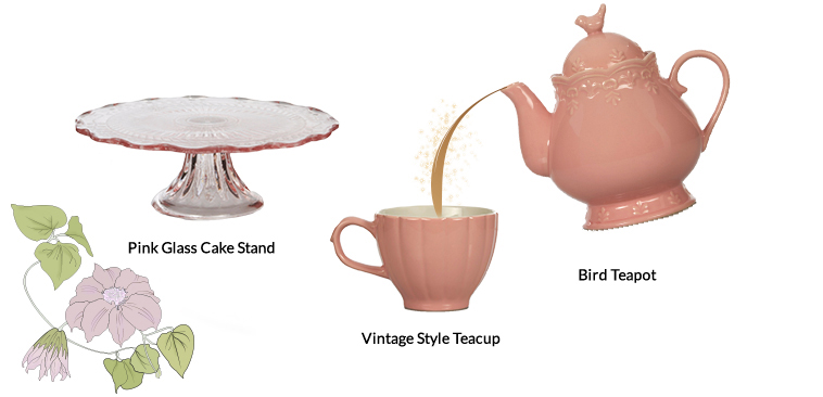 Create the perfect tea party with this tea set from George Home