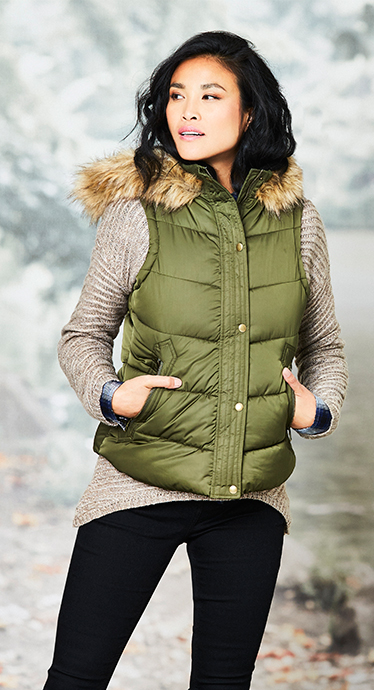 Keep warm with our fabulous collection of gilets at George.com