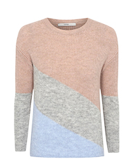 Work a colour block jumper into your wardrobe at George.com