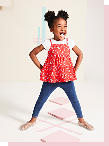 Brighten up their holidays with our pretty selection of outfits and dresses for girls' at George.com
