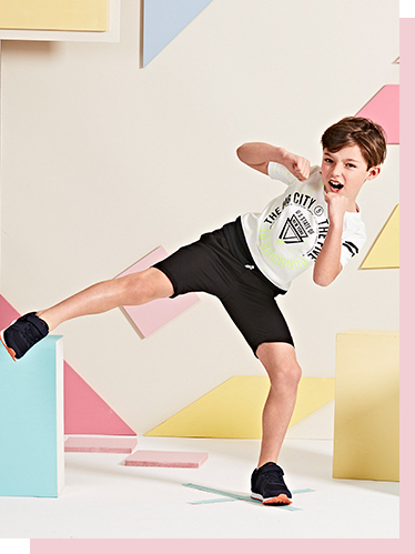 Kit them out for bank holiday adventures with stylish tees, shorts and bags at George.com