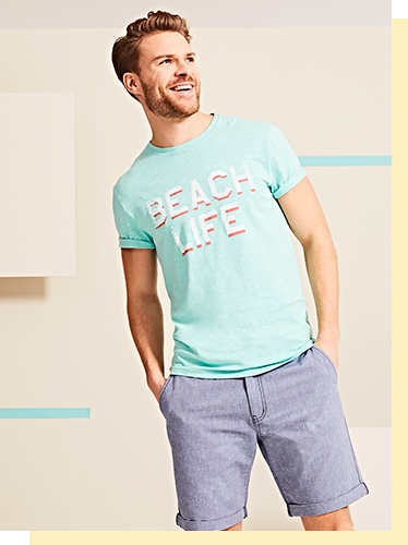 Upgrade your basics with our cool selection of tees at George.com