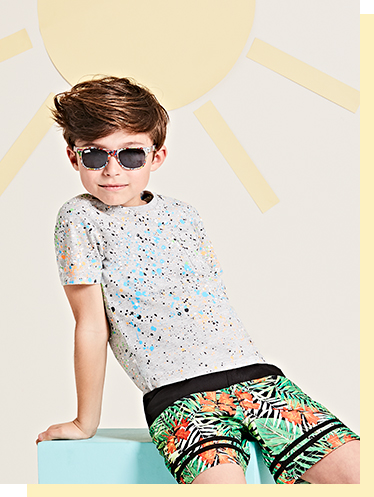 Ensure they're looking too cool for the pool with our great selection of swim shorts at George.com