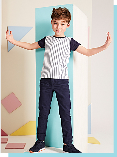 Add to his casual collection with our range of stylish tops and trainers at George.com