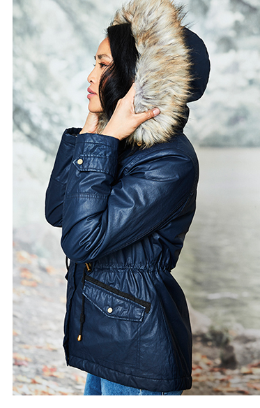 Be cold weather ready with trendy coats and jackets at George.com