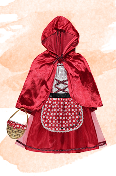 Browse our Little Red Riding Hood fancy dress outfit at George.com
