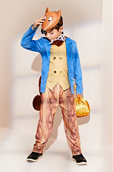 Transform into Fantastic Mr. Fox with our great fancy dress selection at George.com