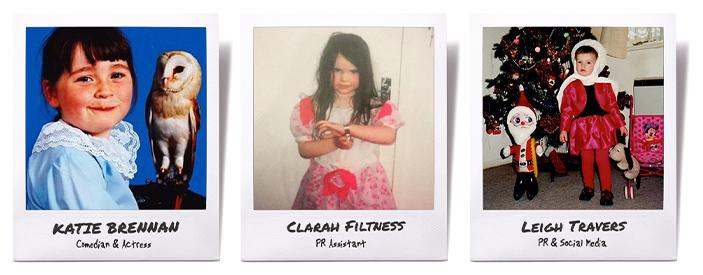 Katie Brennan Clarah Filtness Leigh Travers