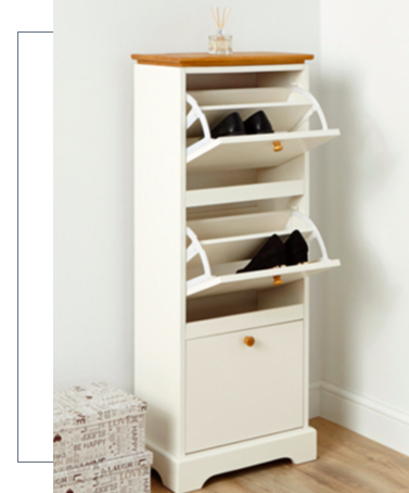 Make sure the family's shoes are off the floor with our handy shoe cupboards at George.com